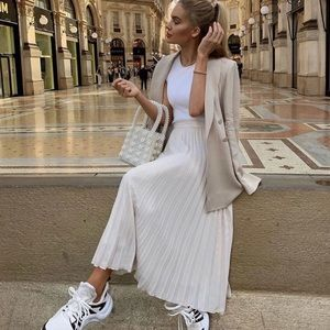 Blogger Fav   Cream Pearl Beaded Bucket Bag